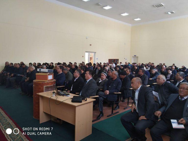 Read more about the article Сурхандарё вилояти Денов шахрида 15 ноябрь 2019 йилда семинар тренинг ўтказилди.